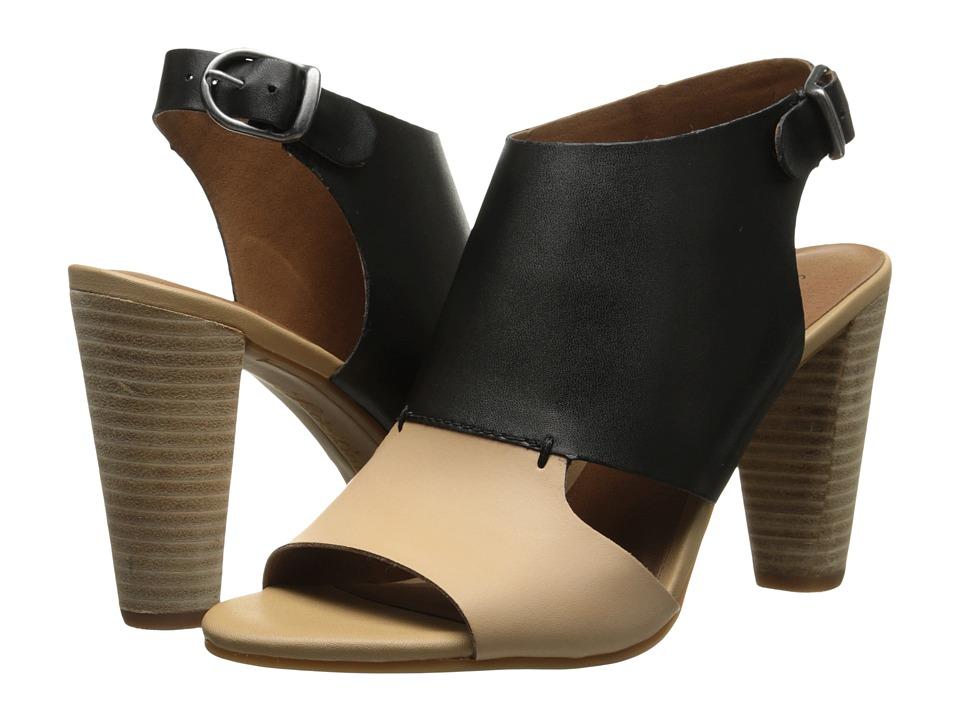 Lucky Brand - Otta (Black/Pinenut Vrgnia) High Heels