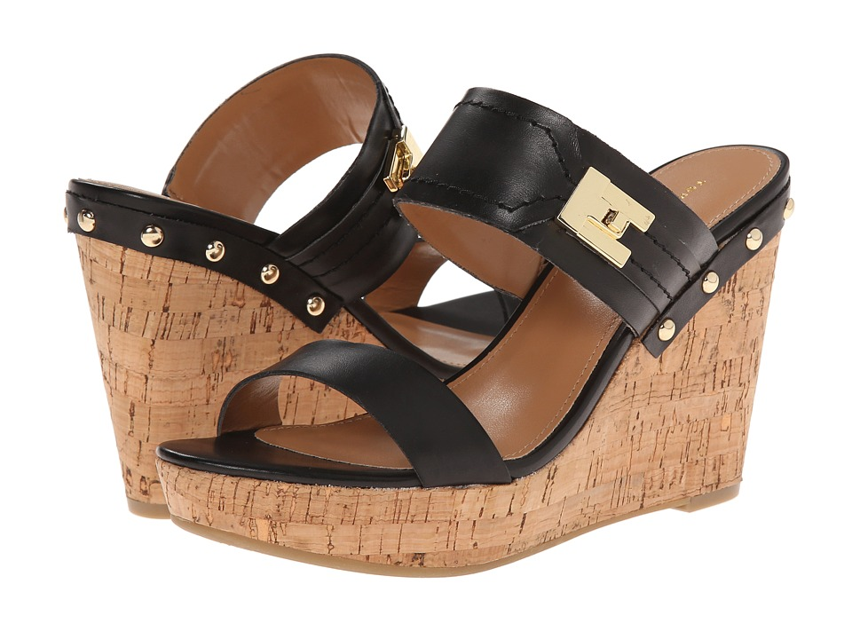 6cdb9c130b31 UPC 888448794411 product image for Tommy Hilfiger - Madasen (Black Natural) Women s  Wedge ...