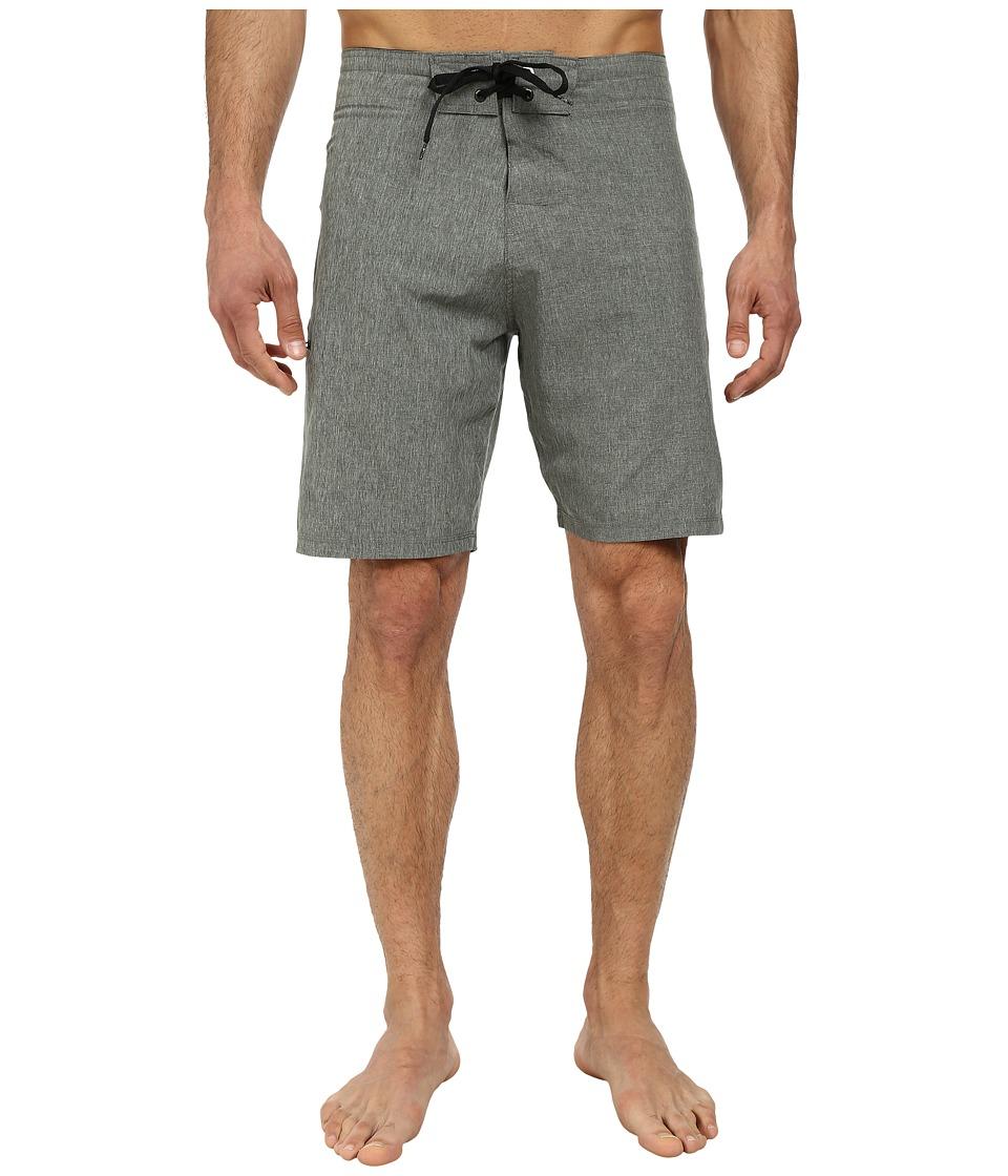 Body Glove - Vaporskin It's Zupper Boardshort (Charcoal Heather) Men's Swimwear