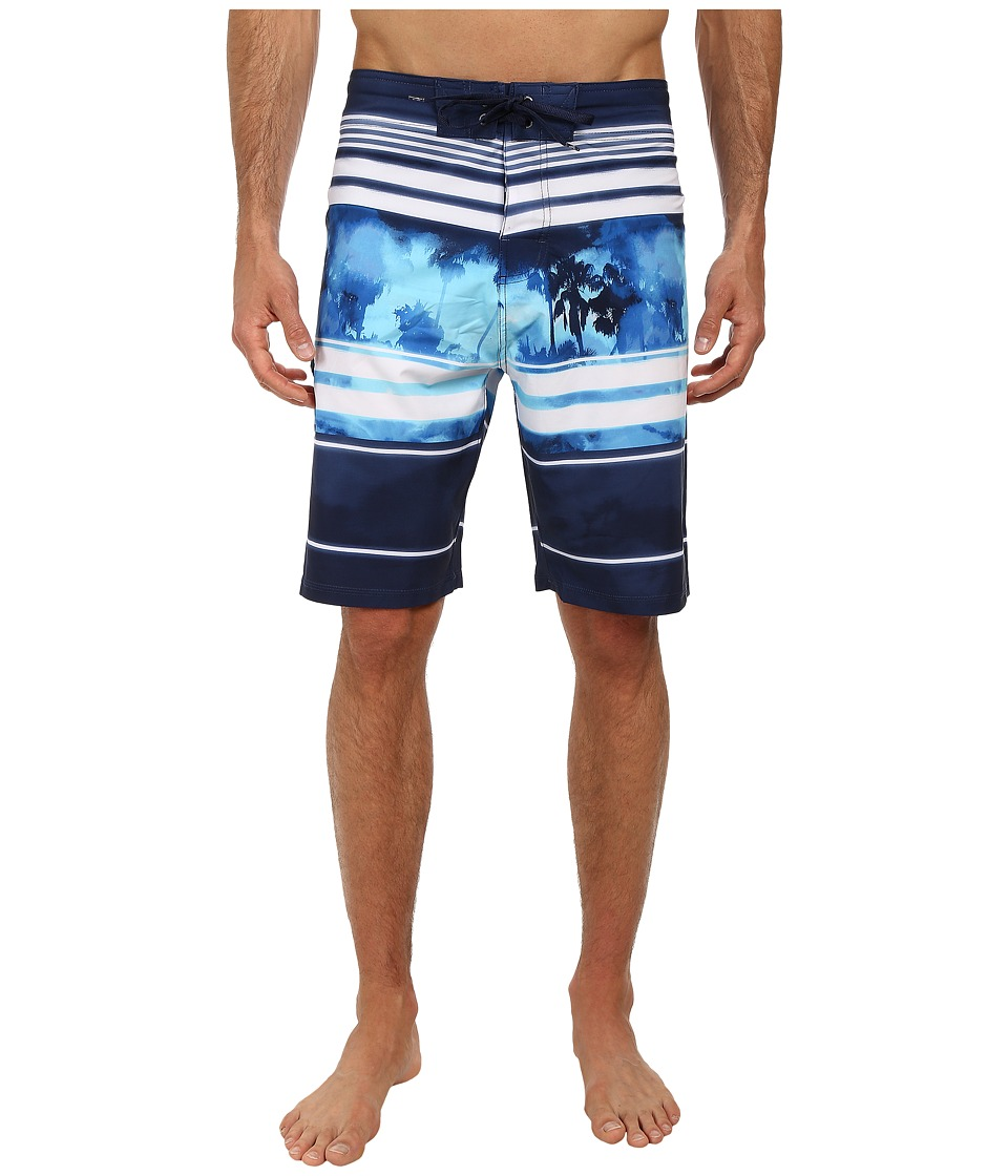 Body Glove - Vaporskin Locals Boardshort (Indigo) Men's Swimwear