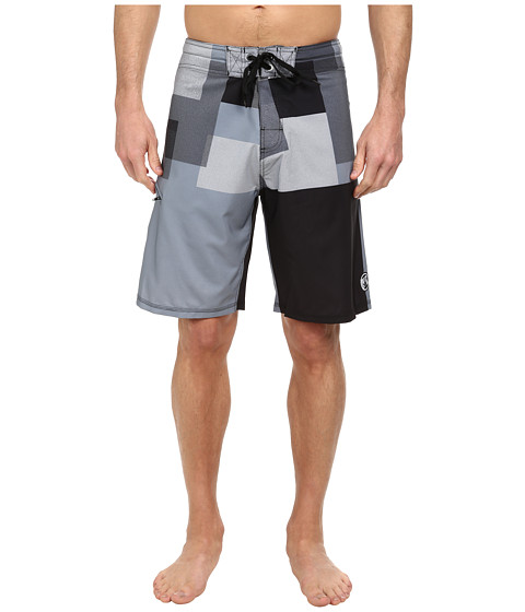 Body Glove - Vaporskin Pop Corn Boardshort (Black) Men