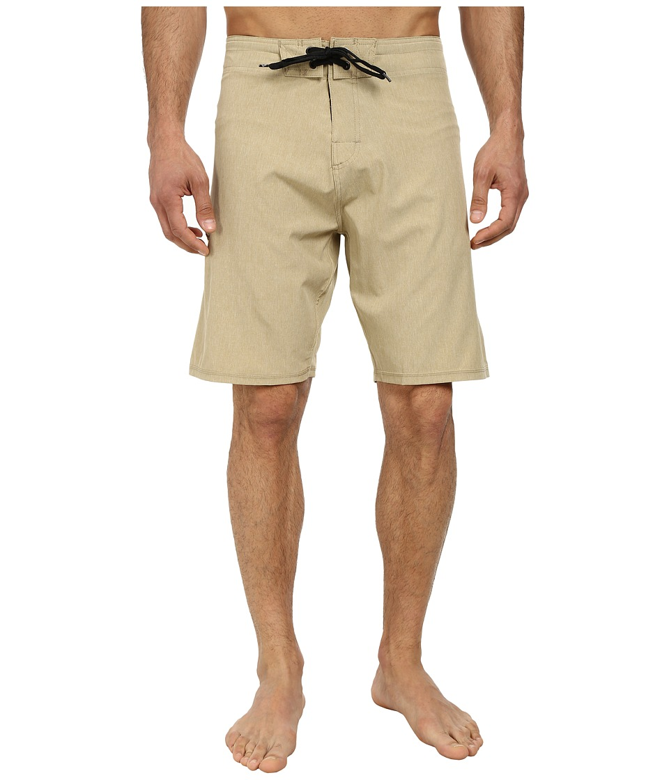 Body Glove - Vaporskin It's Zupper Boardshort (Tan Heather) Men's Swimwear