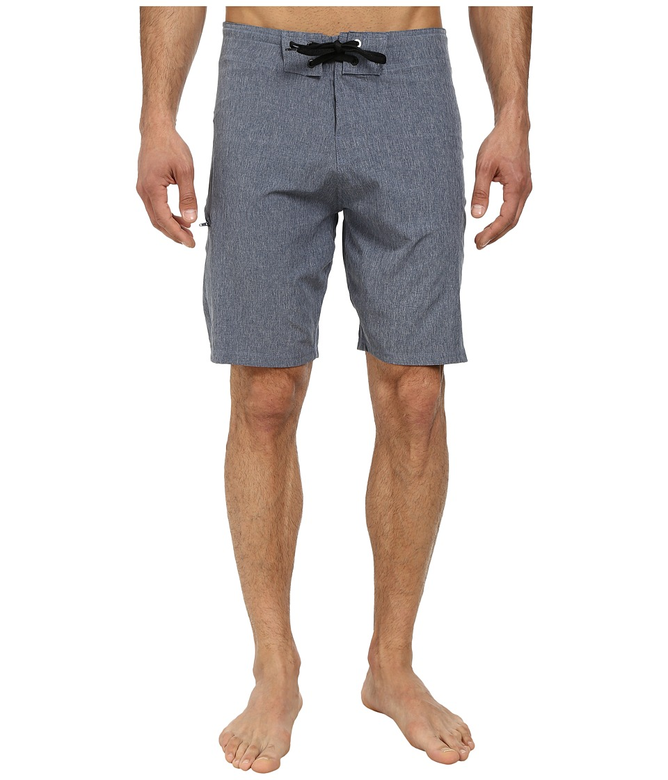 Body Glove - Vaporskin It's Zupper Boardshort (Indigo Heather) Men's Swimwear