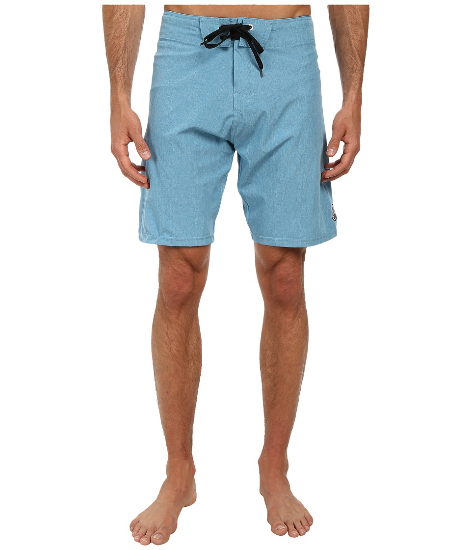 Body Glove - Vaporskin It's Zupper Boardshort (Cyan Heather) Men's Swimwear