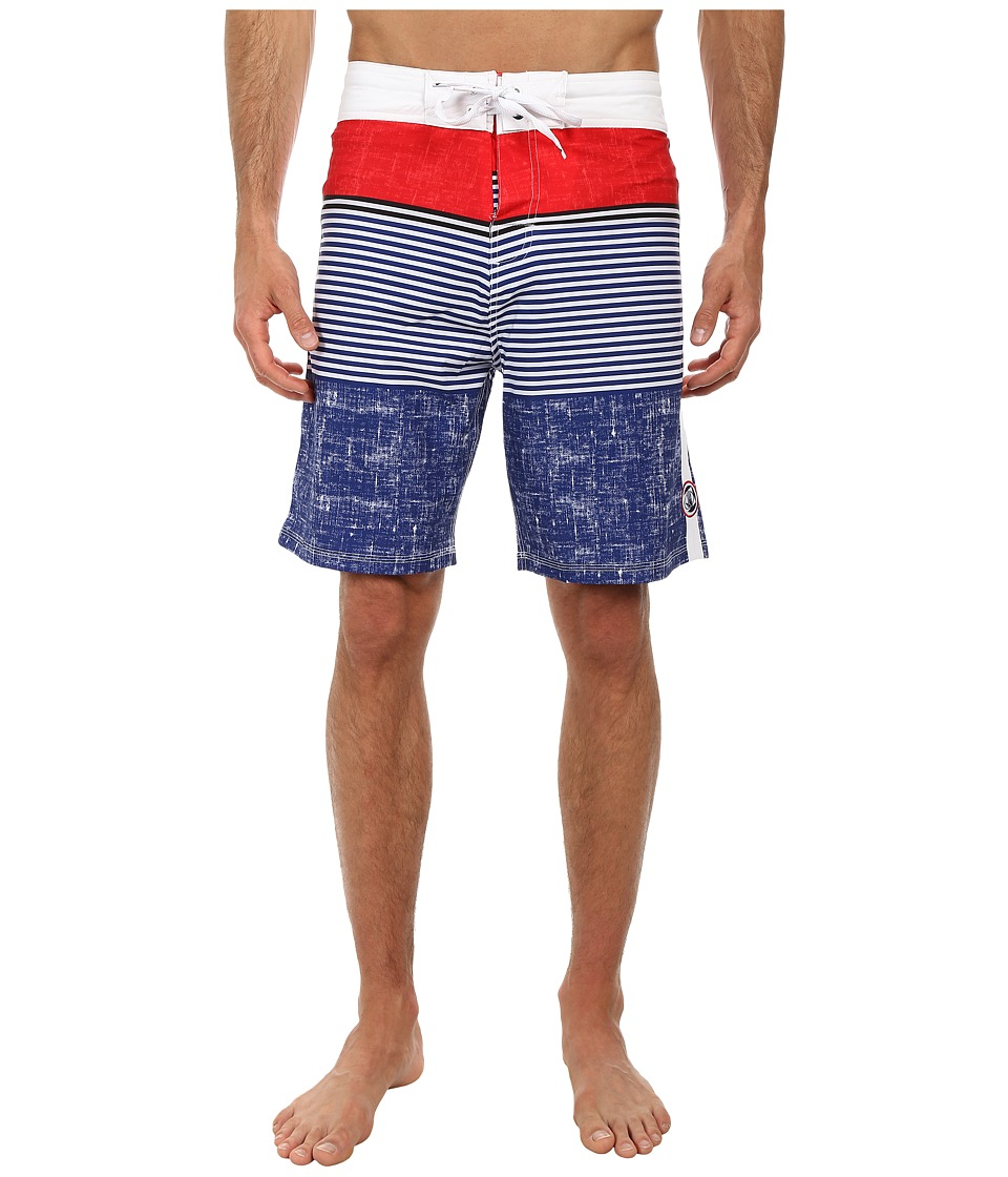 Body Glove - Vaporskin Rivers Boardshort (Indigo) Men's Swimwear