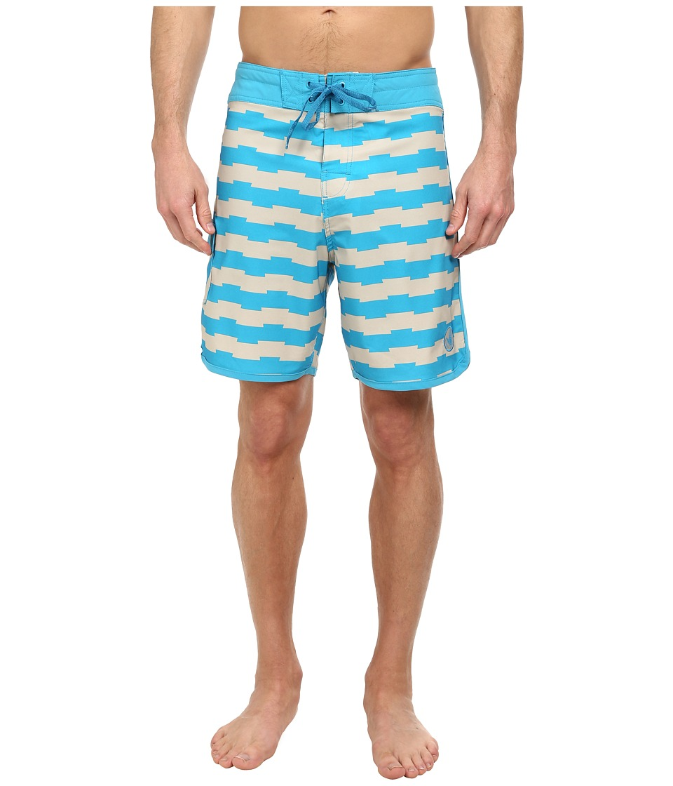 Body Glove - Vaporskin Pancakes Boardshort (Ocean) Men's Swimwear