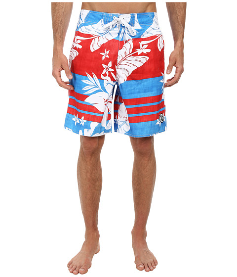 Body Glove - Primo V-Boardshort (Red) Men