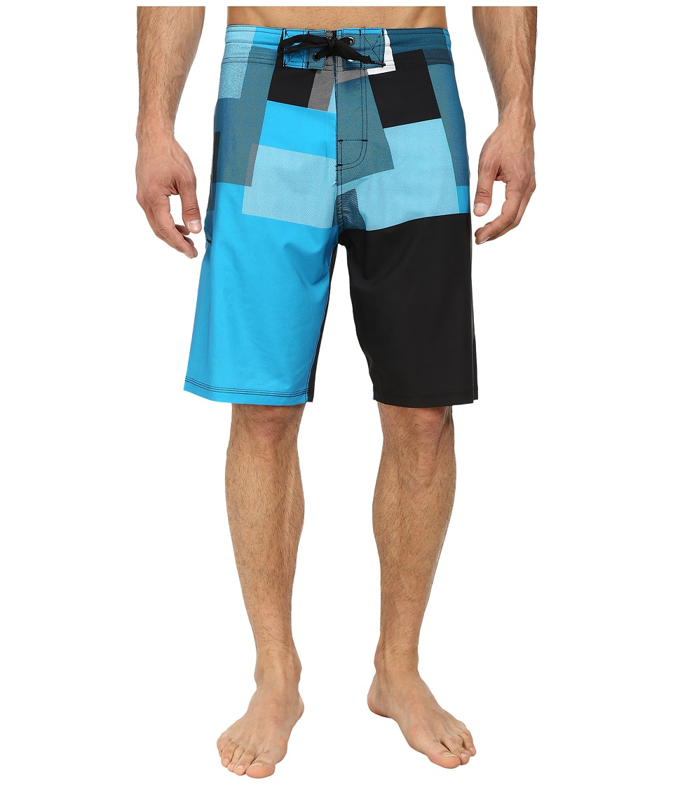 Body Glove - Vaporskin Pop Corn Boardshort (Teal) Men's Swimwear
