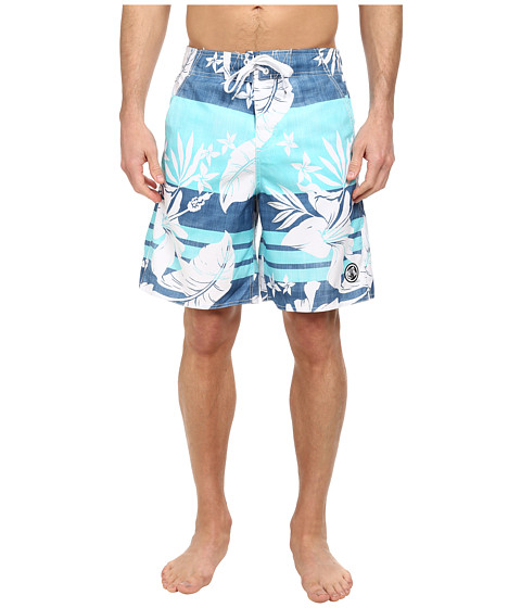 Body Glove - Primo V-Boardshort (Blue) Men's Swimwear