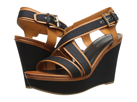 Tommy Hilfiger - Safiah (Black/Luggage/Military Twill) Women