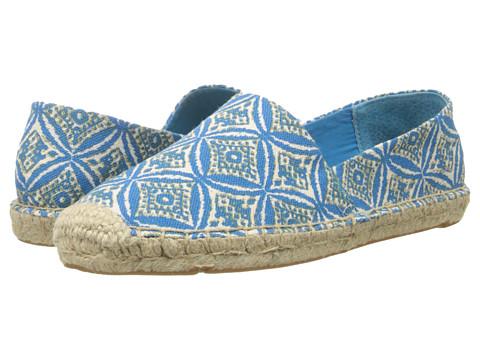 Lucky Brand - Tashii (Ikat Circle Print- Blue Danube) Women's Slip on Shoes