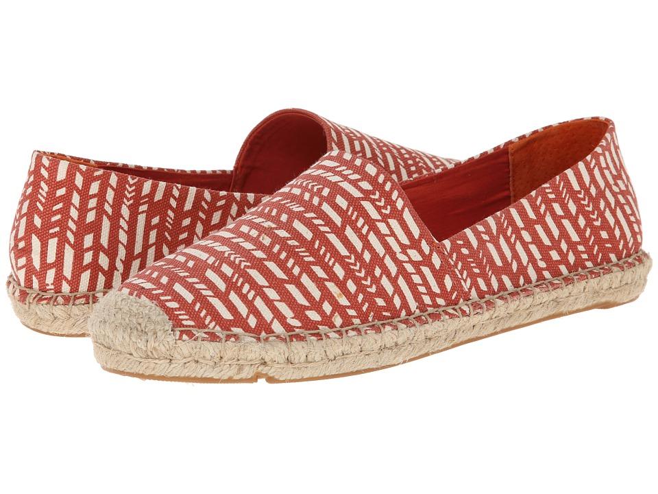 Lucky Brand - Tashii (Broken Stripe Print- Red Clay) Women