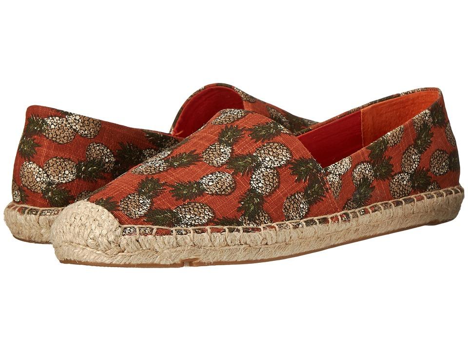 Lucky Brand - Tashii (Pineapple Toss Print- Red Clay) Women