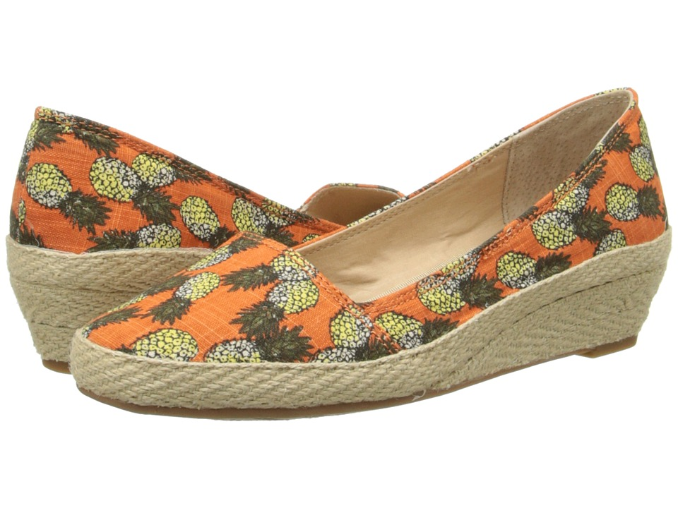 Lucky Brand - Tomlinn (Marigold Pnapts) Women's Wedge Shoes