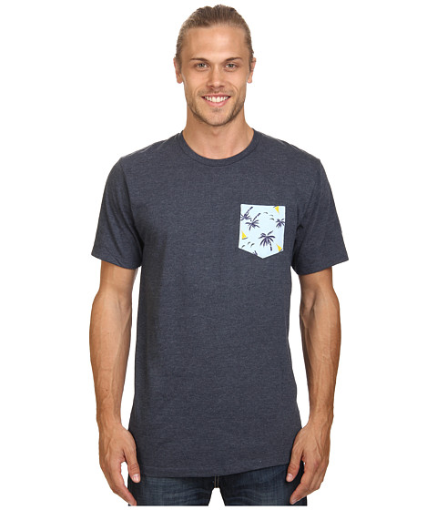 Body Glove - 14500/55-Pockets Of Fun Tee (Indigo Heather) Men