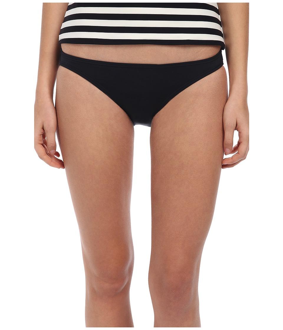 Kate Spade New York - Georgica Beach Classic Bottom (Black) Women's Swimwear