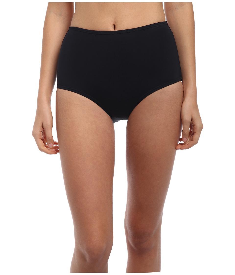 Kate Spade New York - Georgica Beach High Waist Bottom (Black) Women's Swimwear