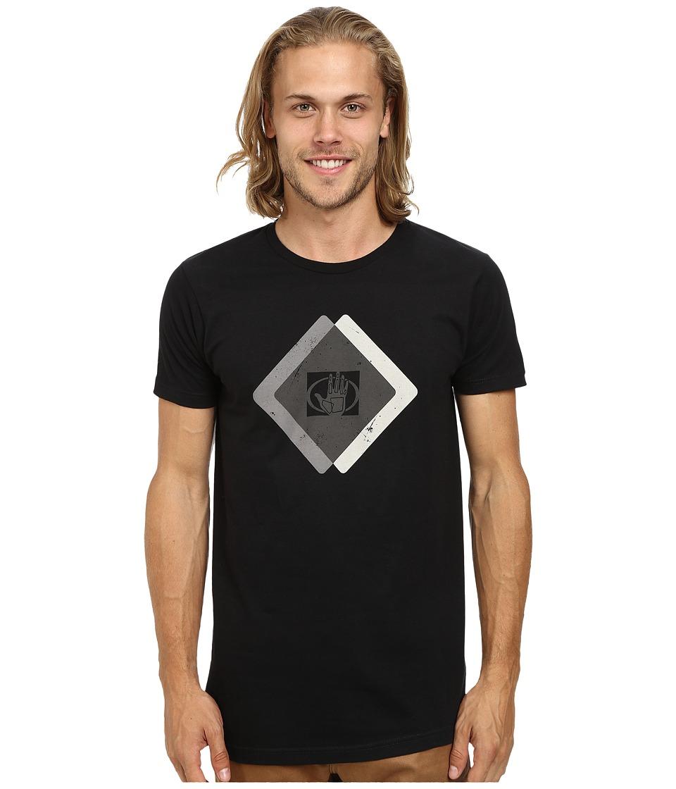 Body Glove - Mc14555-Hazards Tee (Black) Men's T Shirt