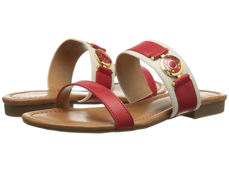 Tommy Hilfiger - Sabeen (Formula One/Natural) Women's Sandals