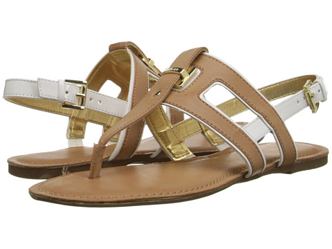 Tommy Hilfiger - Lynnie (Sable/White) Women's Sandals