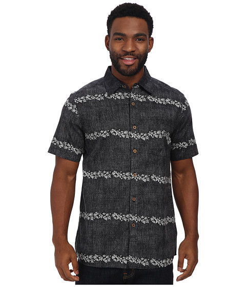 Body Glove - Turtle Bay Shirt (Black) Men's Clothing