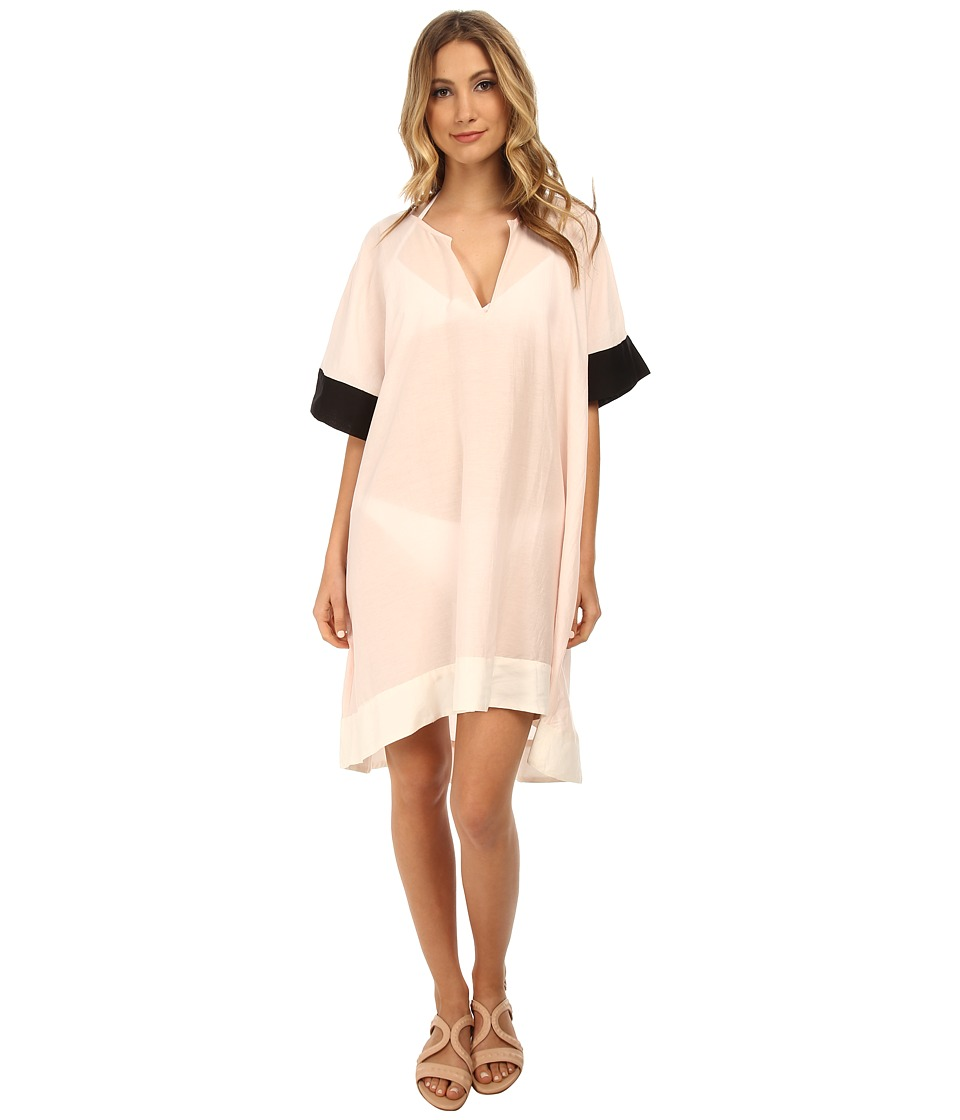 Kate Spade New York - Parrot Cay Tunic Cover-Up Dress (Blush) Women's Swimwear
