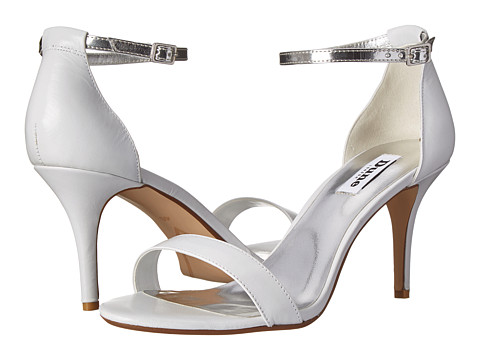 Dune London - Marissa (White Leather) High Heels