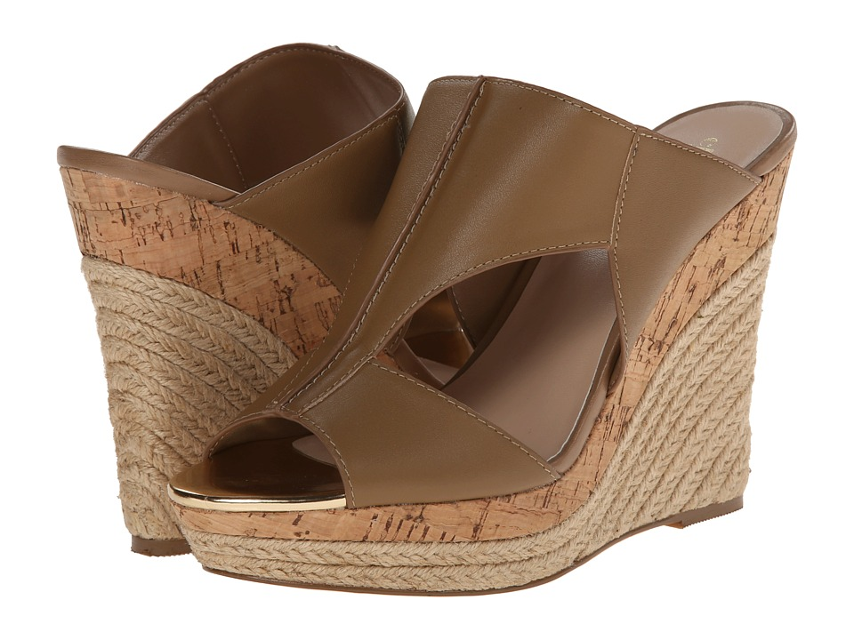 Charles by Charles David - Abacus (Nude Leather) Women's Wedge Shoes