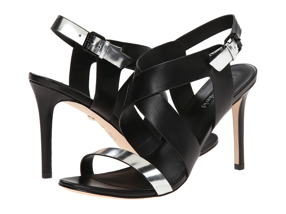 Charles by Charles David Ivette (Black/Silver Leather) High Heels