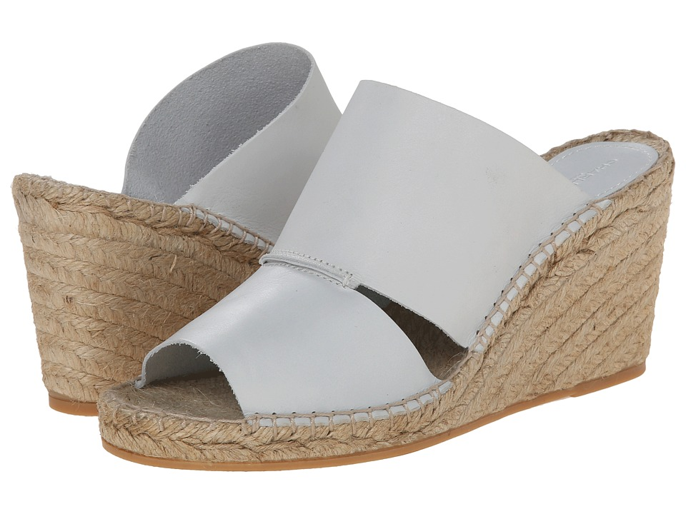 Charles by Charles David - Owen (White Leather) Women's Wedge Shoes