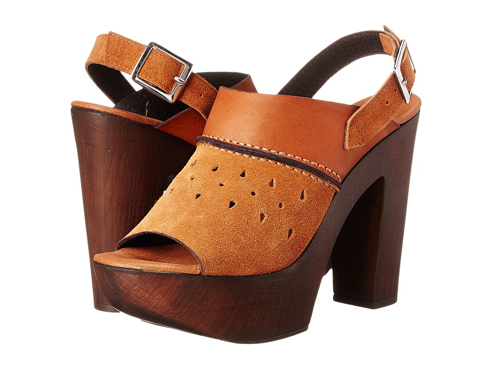 Charles by Charles David - Tazz (Cognac Leather) High Heels