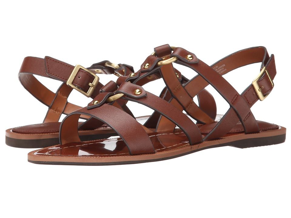 Charles by Charles David - Anna (Cognac Leather) Women's Sandals