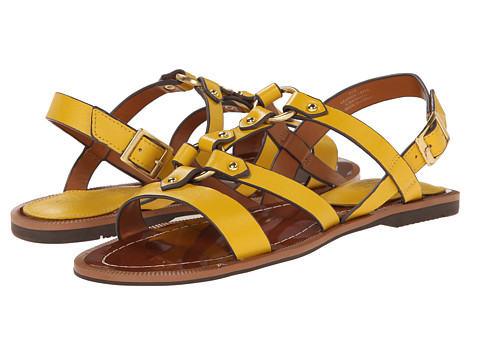Charles by Charles David - Anna (Yellow Leather) Women's Sandals