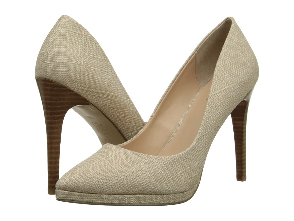 Charles by Charles David - Plateau (Tan Linen) High Heels