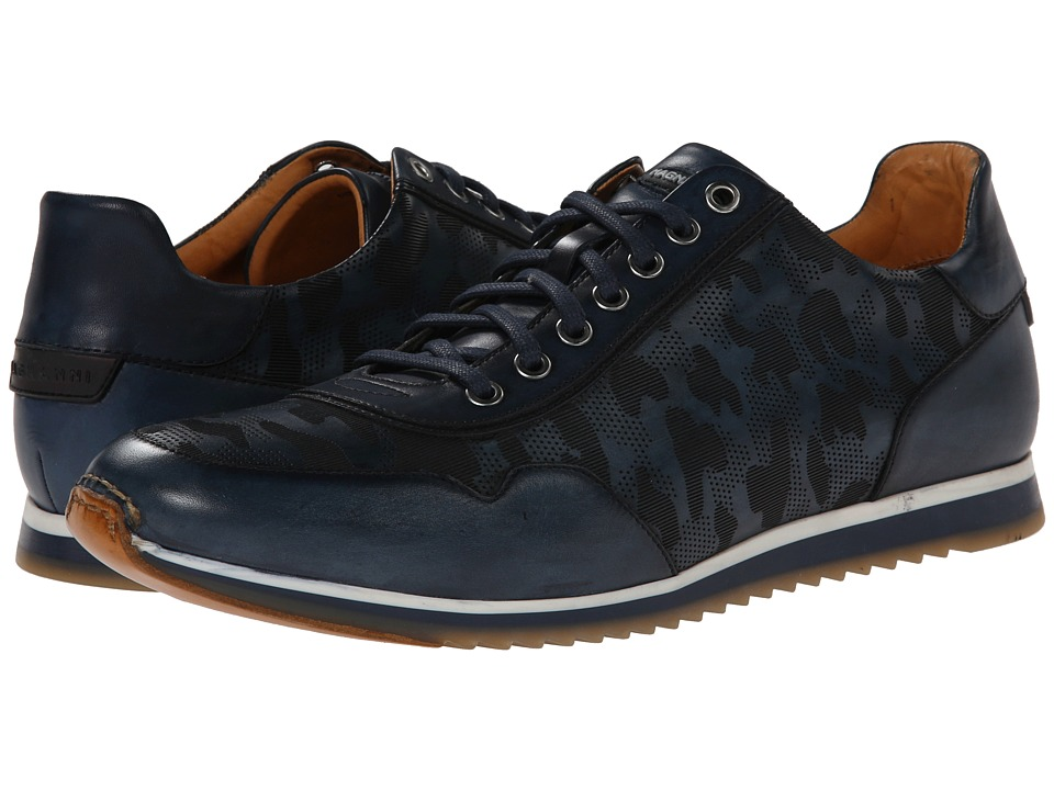 Magnanni - Almeria (Navy) Men's Lace up casual Shoes
