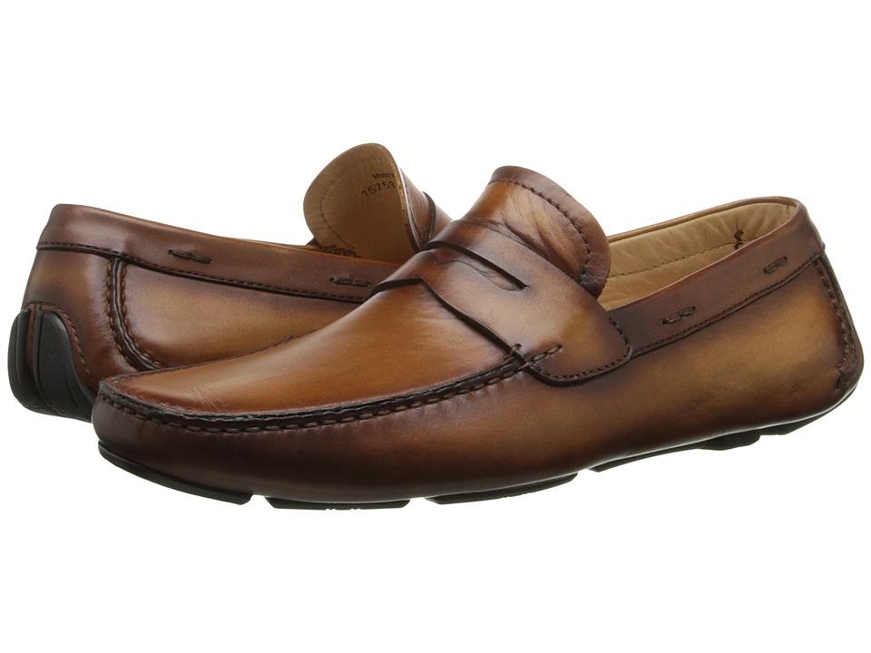 Magnanni - Dylan (Cognac) Men's Slip on Shoes