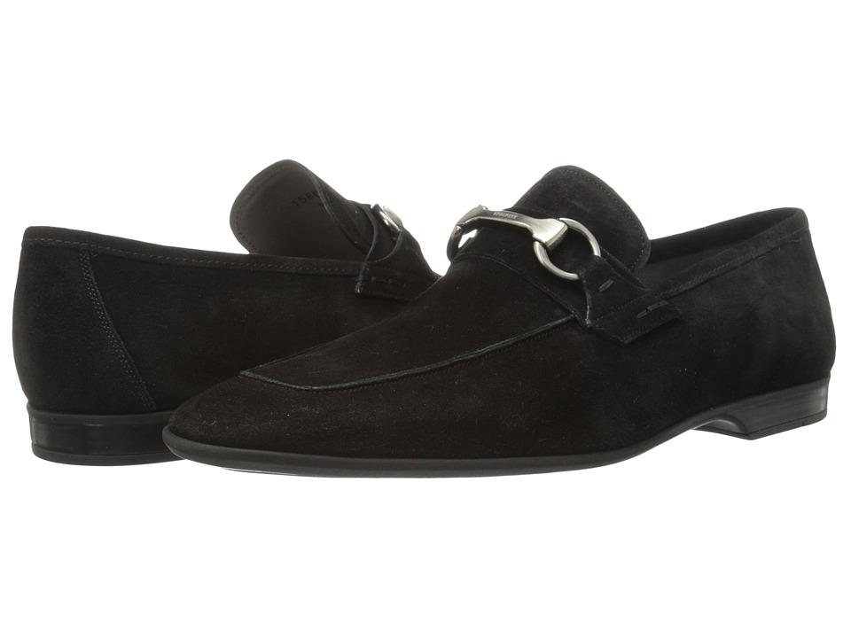 Magnanni - Romo (Black) Men's Slip on Shoes