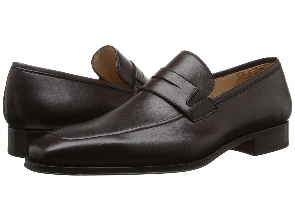 Magnanni - Angel (Brown) Men's Slip-on Dress Shoes