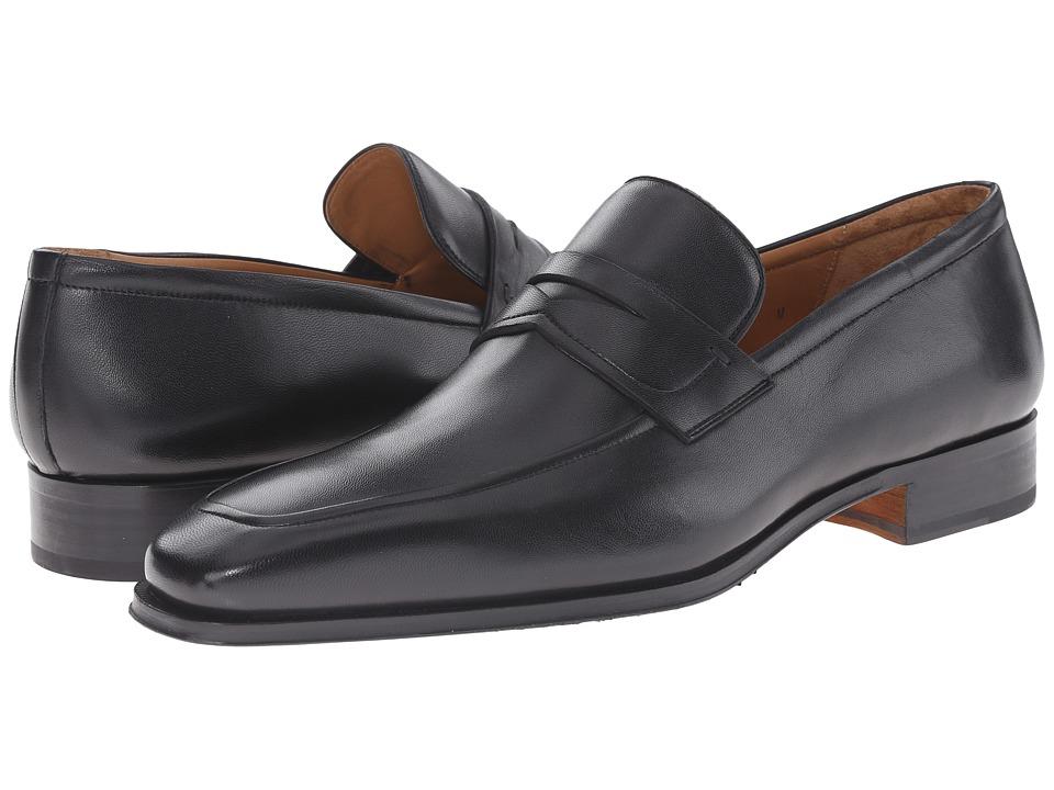 Magnanni - Angel (Black) Men's Slip-on Dress Shoes