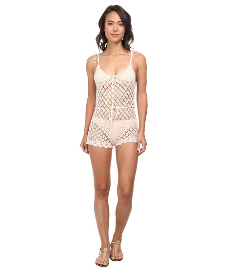 Billabong - Dream Lover Romper (White Cap) Women's Jumpsuit & Rompers One Piece