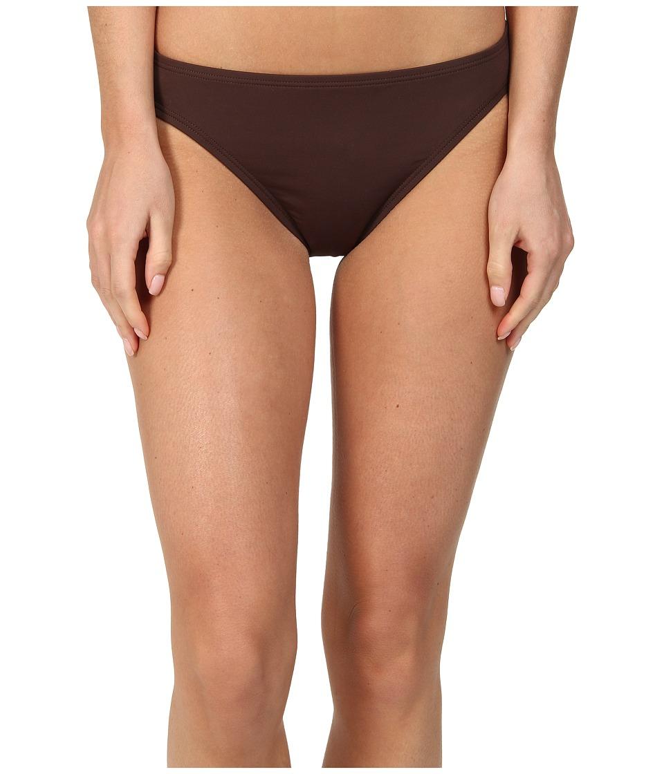MICHAEL Michael Kors - Classic Bottom (Chocolate) Women's Swimwear