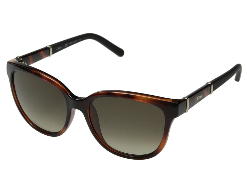 Chloe - Daisy Cateye (Tortoise) Fashion Sunglasses