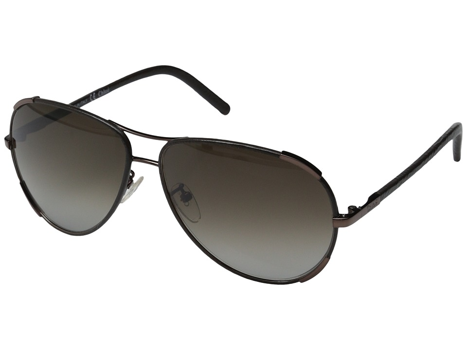 Chloe - Nerine Aviator (Deep Bronze) Fashion Sunglasses