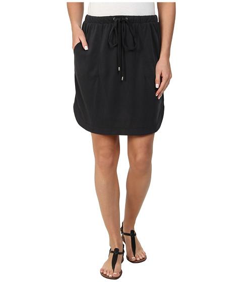 Splendid - Sandwash Jersey Skirt (Black) Women's Skirt