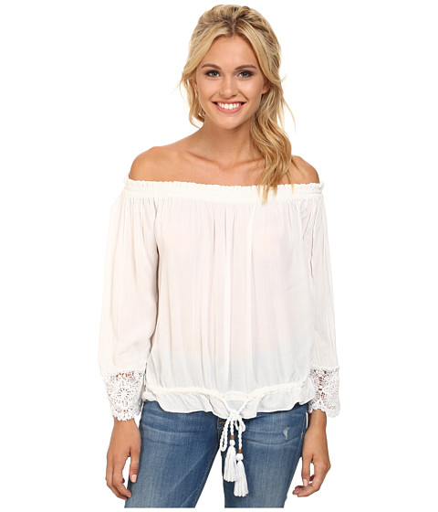O'Neill - Beau (White) Women's Blouse