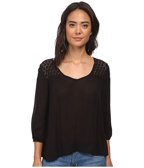 O'Neill - Marlon (Black) Women's Blouse