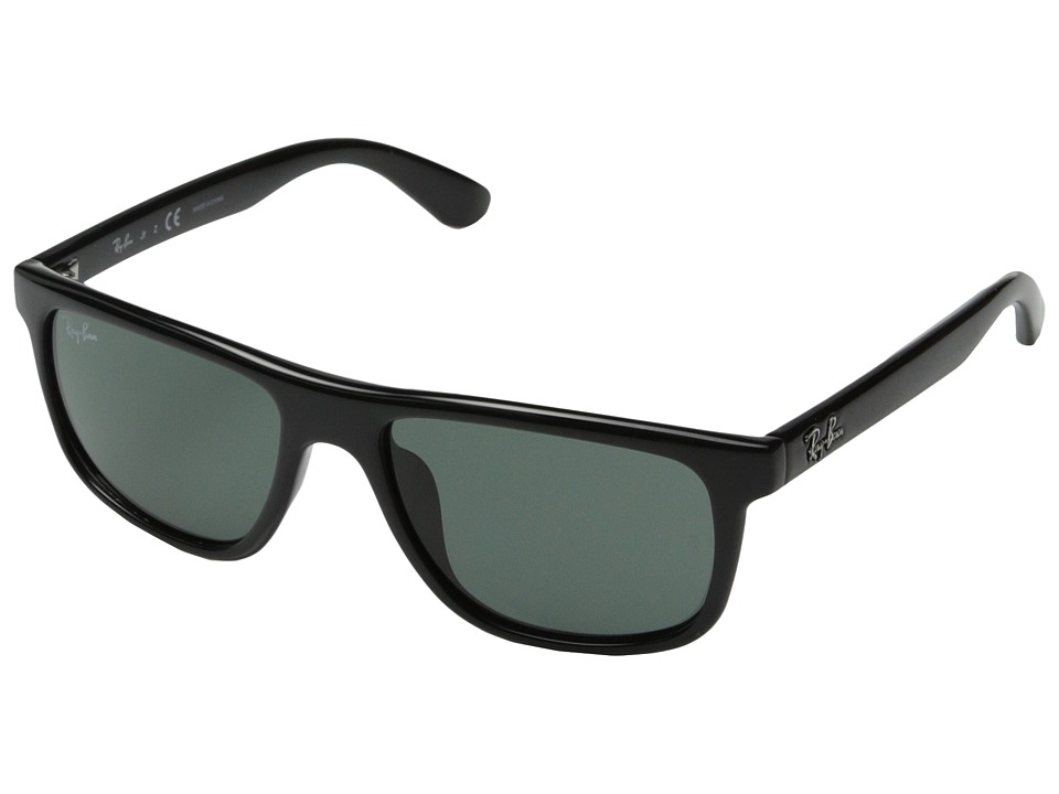 Ray-Ban - RJ9057S 50mm (Youth) (Black) Fashion Sunglasses
