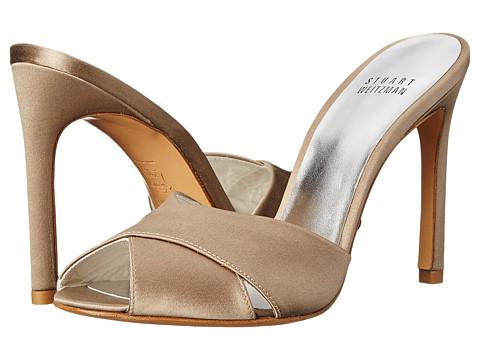 Stuart Weitzman Bridal & Evening Collection - Sarong (Misty Satin) High Heels