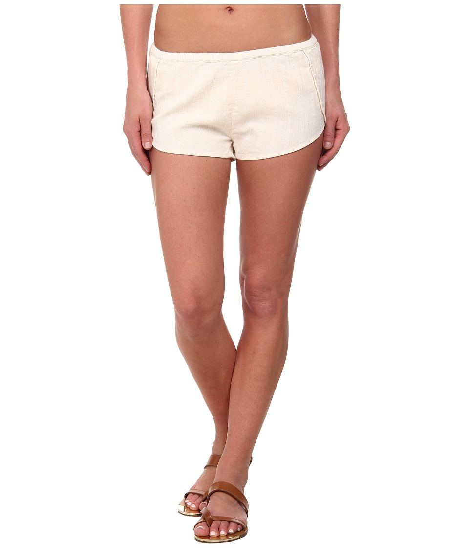 Billabong - Salty Wavez Cover-Up Short (White Cap) Women