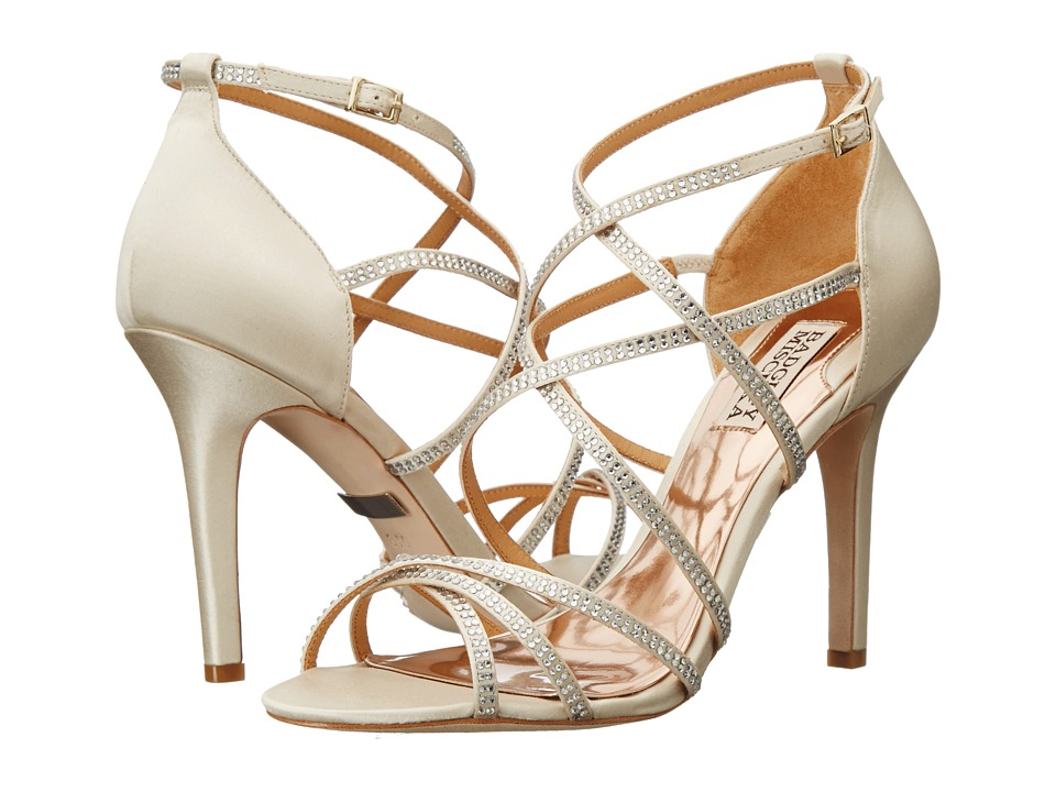Badgley Mischka - Meghan (Ivory Satin) High Heels